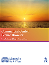 Commercial Center Secure Browser Guide Cover
